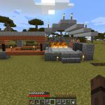 Minecraft とうとう建築始めます。最初の建築は鍛冶屋!