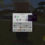 Minecraft 村人と交易 ダイヤ装備ザックザク!?