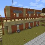 Minecraft 村人さんのためのアパート作り