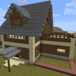Minecraft 豆腐建築を脱しよう ついに完成マイホーム!