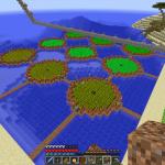 Minecraft まるで幾何学模様?おもしろ畑を作ろう