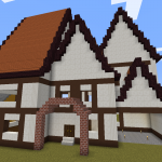 Minecraft 今までの集大成!本気の建築!!<中編>