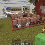 Minecraft まるでお見合い会場!?簡単村人増殖施設