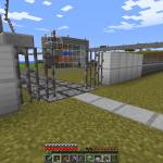 Minecraft 焼き肉、雪玉製造機のところに工場を作る