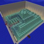 Minecraft 海底神殿を一人で!サバイバルで!丸裸にする!!