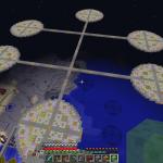 Minecraft 見た目もかっこいい空中大空港を作る!part1