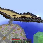 Minecraft 空中大空港を作る!part2