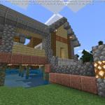 Minecraft 水辺にピッタリの建築<後編>