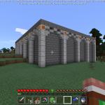 Minecraft 本気の洋館作り!屋根の形にもこだわろう<前編>