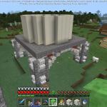 Minecraft 視覚情報量満載のオシャレな塔を作ろう<前編>
