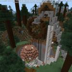 Minecraft ファンタジー風な採掘場アイディア<後編>