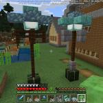Minecraft あなたの街を彩る街灯の提案